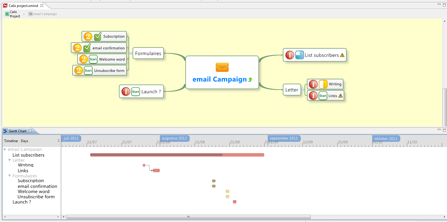 Xmind revolution in education gantt view pooptronica Choice Image